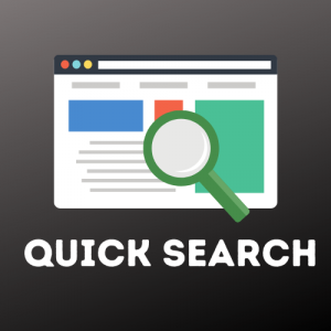 opencart admin quick search