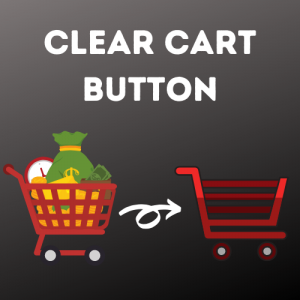Clear Cart button for OpenCart